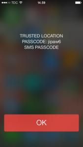 memoPasscode